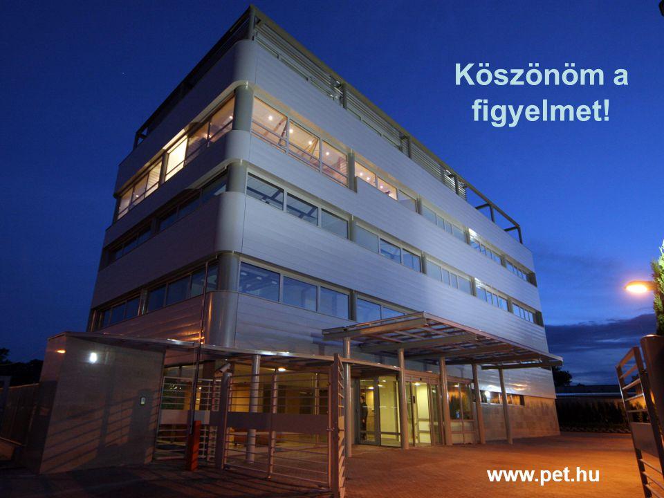 Köszönöm a figyelmet! www.pet.hu