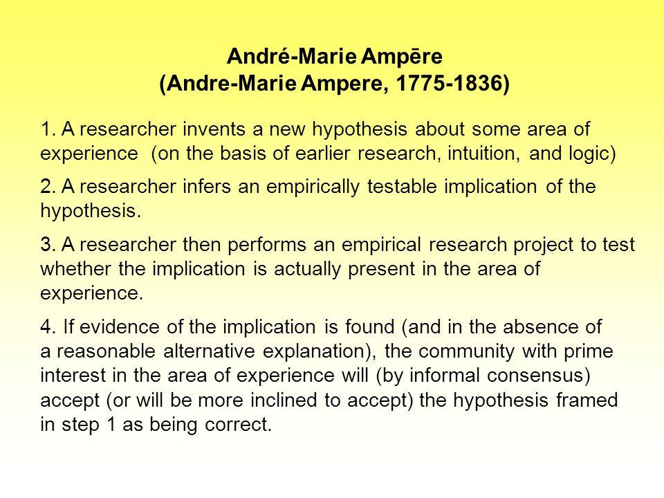 A kísérletező pszichológiája, érdekei T.C. Chamberlin: The Method of Multiple Working Hypotheses.