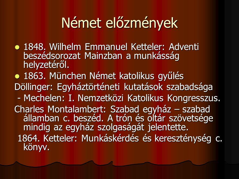 Német előzmények 1848.