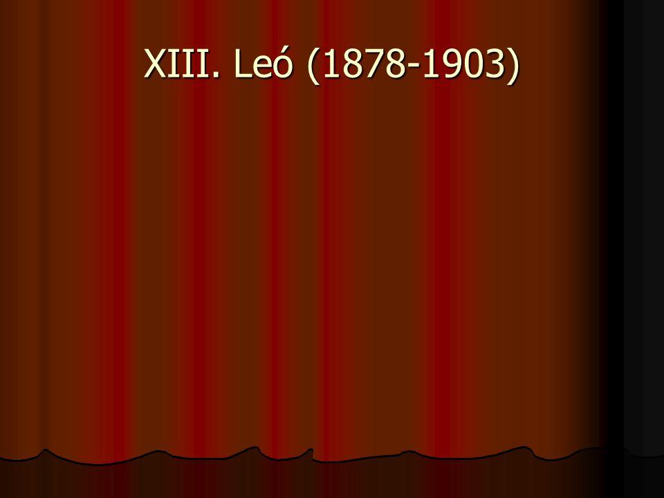 XIII. Leó (1878-1903)