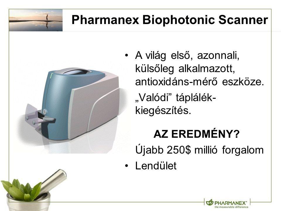 """Pharmanex Biophotonic Scanner A világ első, azonnali, külsőleg alkalmazott, antioxidáns-mérő eszköze. """"Valódi"""" táplálék- kiegészítés. AZ EREDMÉNY? Úja"""