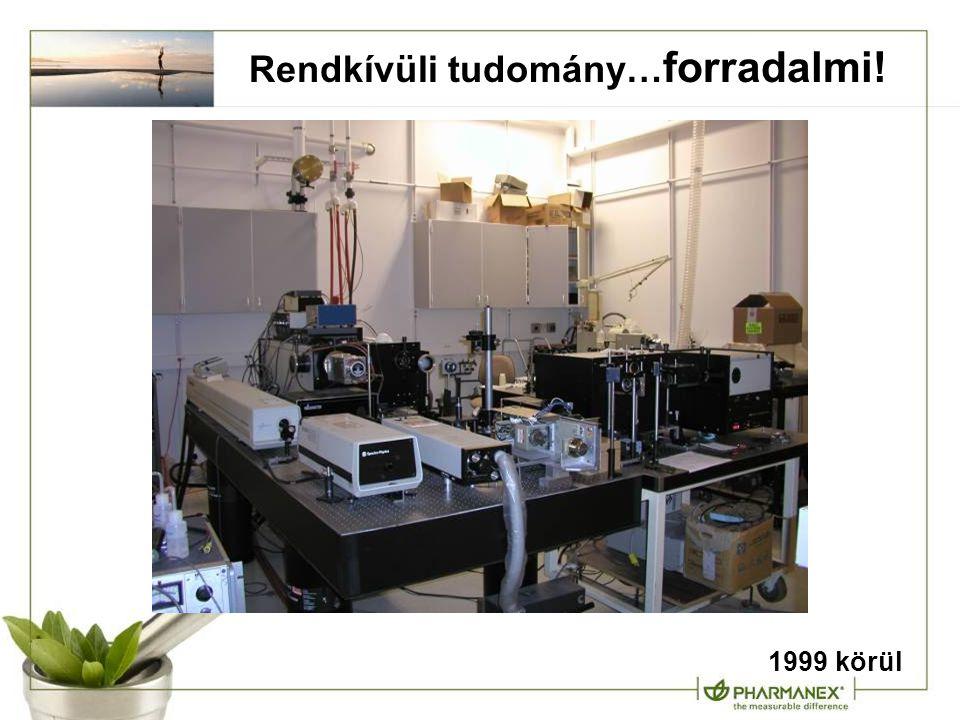 Rendkívüli tudomány… forradalmi! 1999 körül