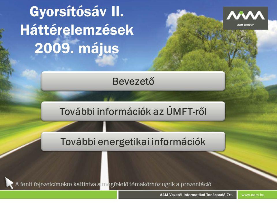 Gyorsítósáv II.Háttérelemzések 2009.