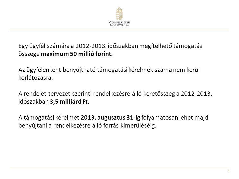 6 Egy ügyfél számára a 2012-2013.
