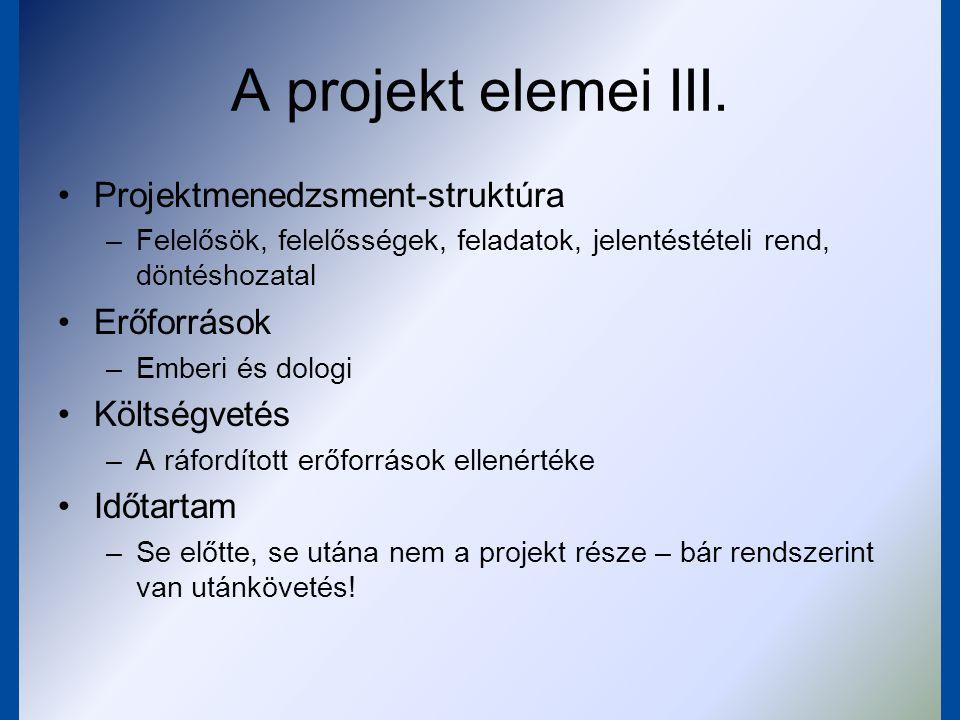 Projekt és pályázat projekt – megtervezett fejlesztési elképzelés pályázat – a PROJEKT bemutatása a pályázat kiírója (a TÁMOGATÓ) által megkövetelt formában