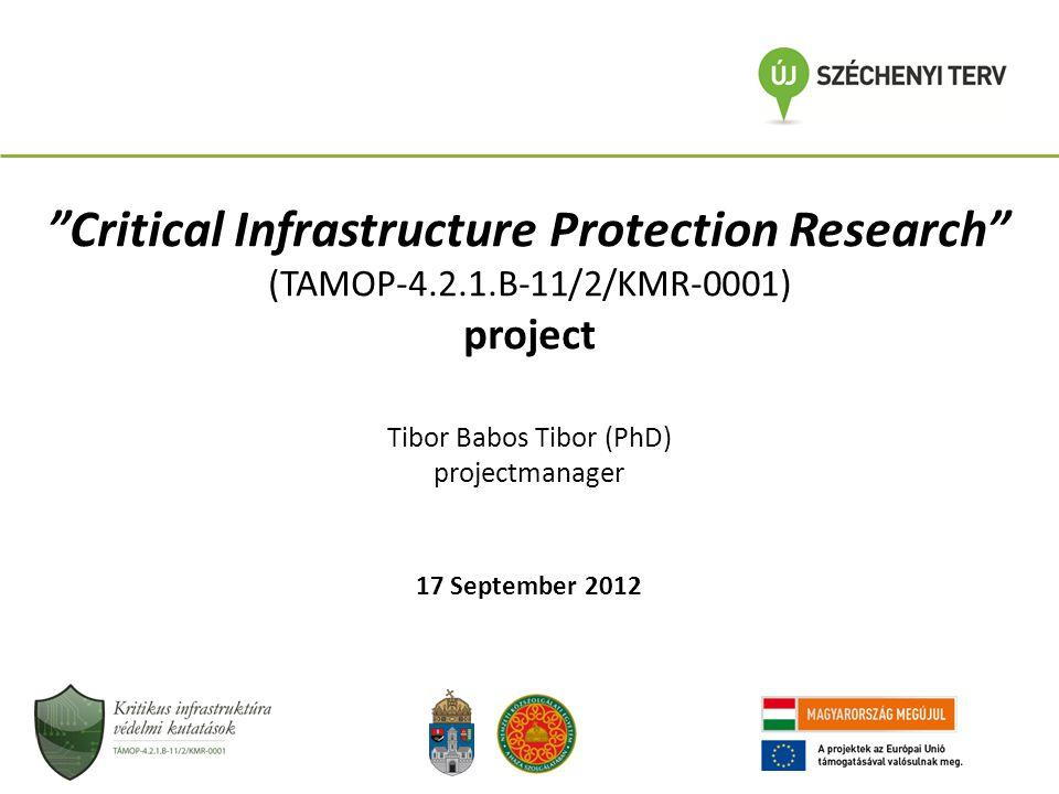Magyarország A Kritikus Infrastruktúra Védelem Nemzeti Programjáról szóló 2080/2008.
