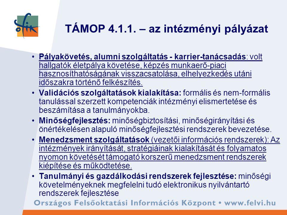 TÁMOP 4.1.1.