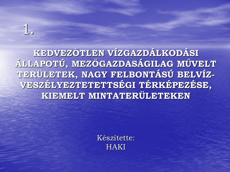 www.fvm.hu gabor.kolossvary@fvm.gov.hu KÖSZÖNÖM MEGTISZTELŐ FIGYELMÜKET