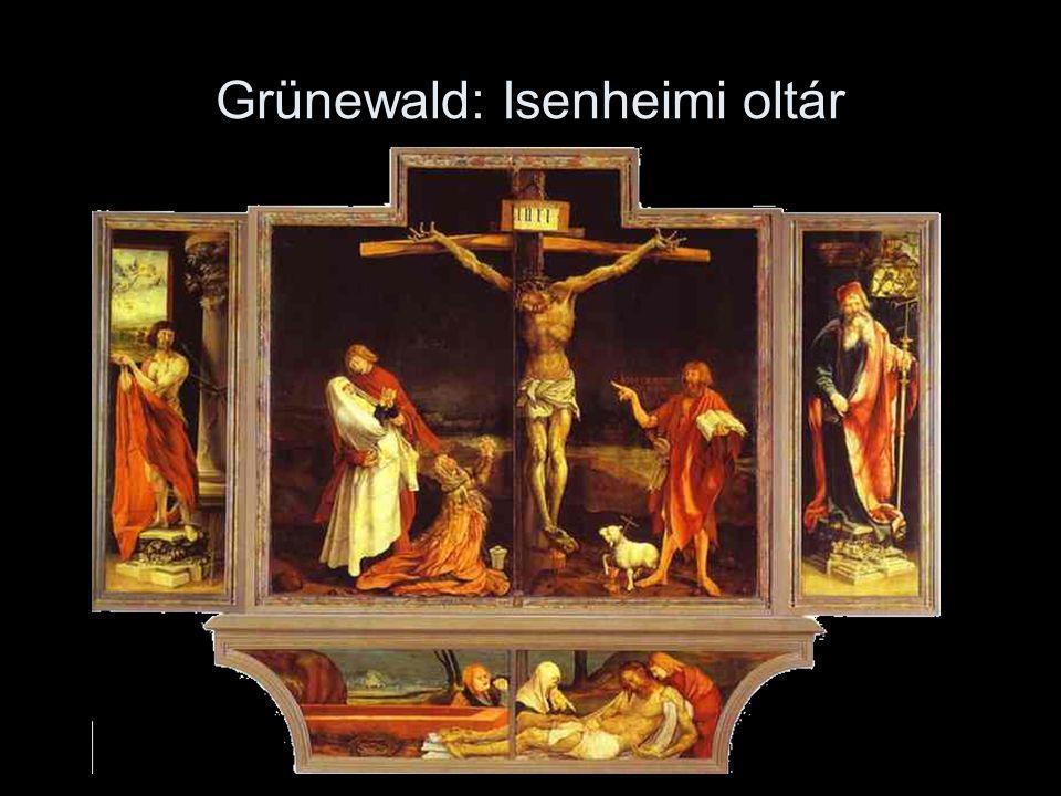 Grünewald: Isenheimi oltár