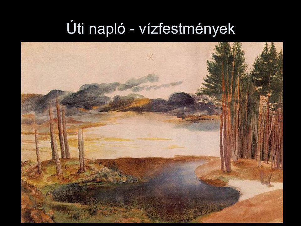 Úti napló - vízfestmények