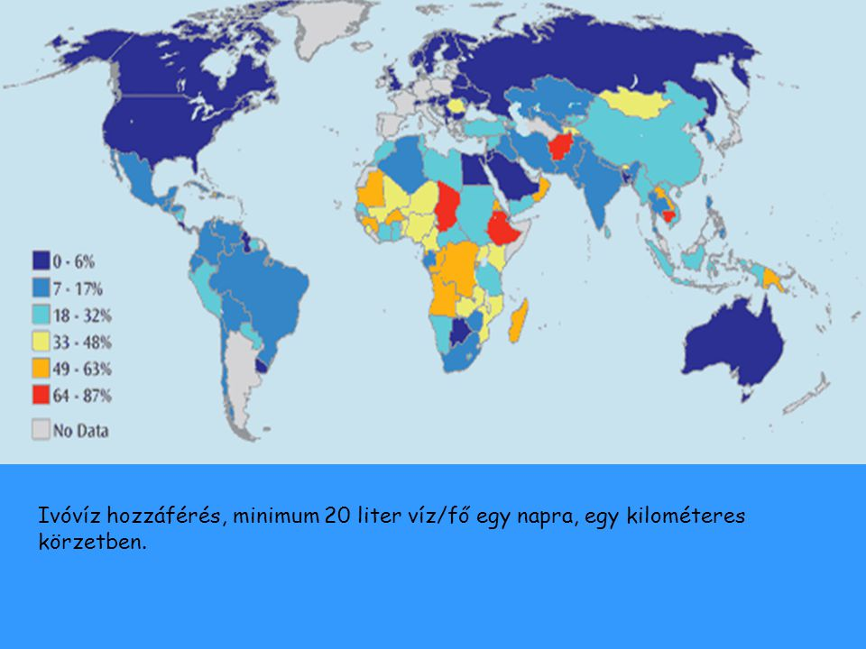 Drasztikusan csökken a Föld ivóvízkészlete a népességrobbanás, a víz pocséklása és a szennyezések miatt.