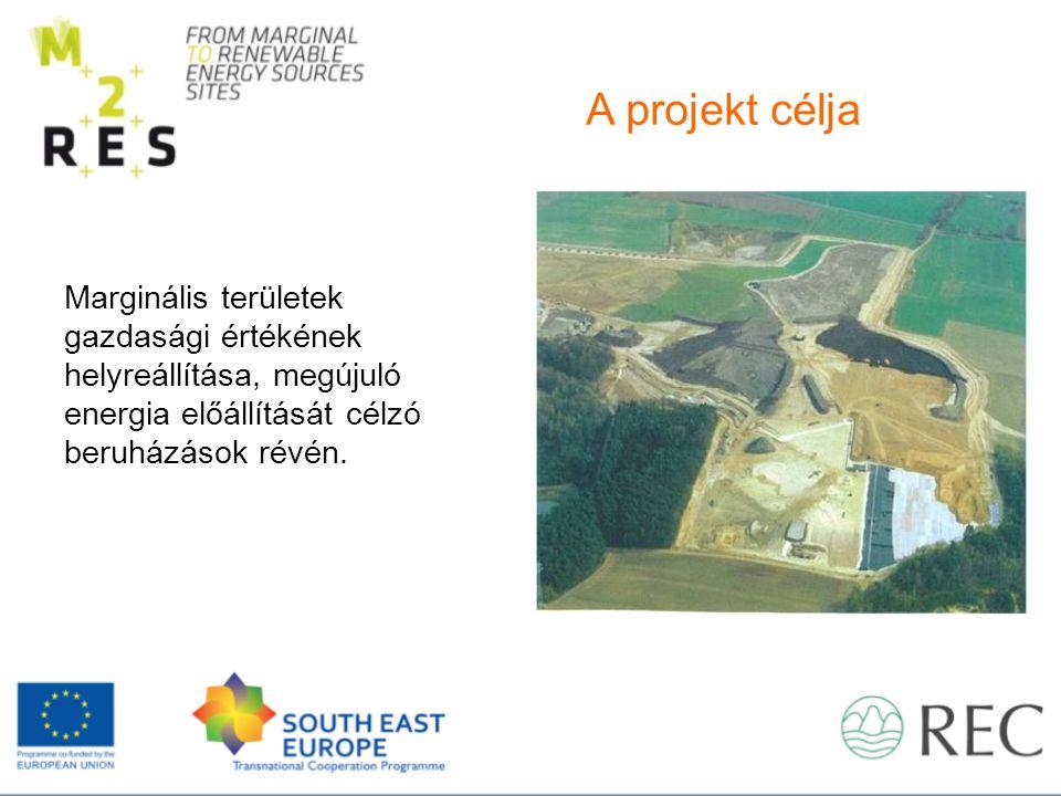 Marginális területek gazdasági értékének helyreállítása, megújuló energia előállítását célzó beruházások révén.