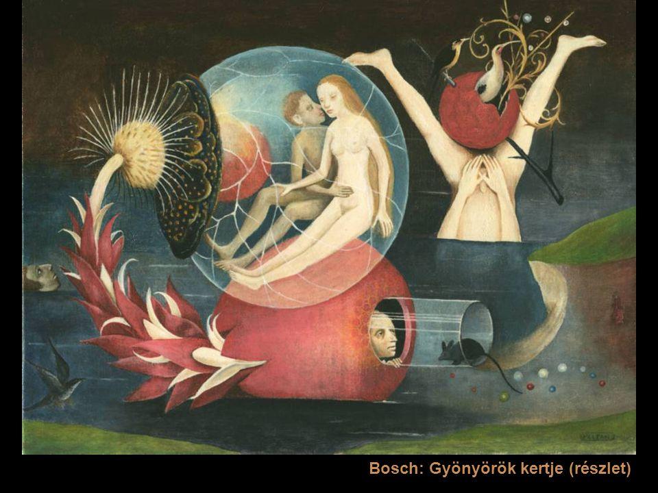 Bosch: Gyönyörök kertje (részlet)