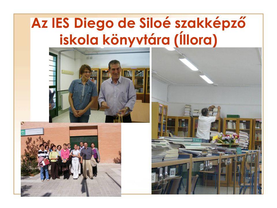 Az IES Diego de Siloé szakképző iskola könyvtára (Íllora)