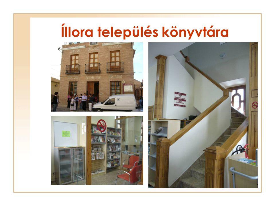 Íllora település könyvtára