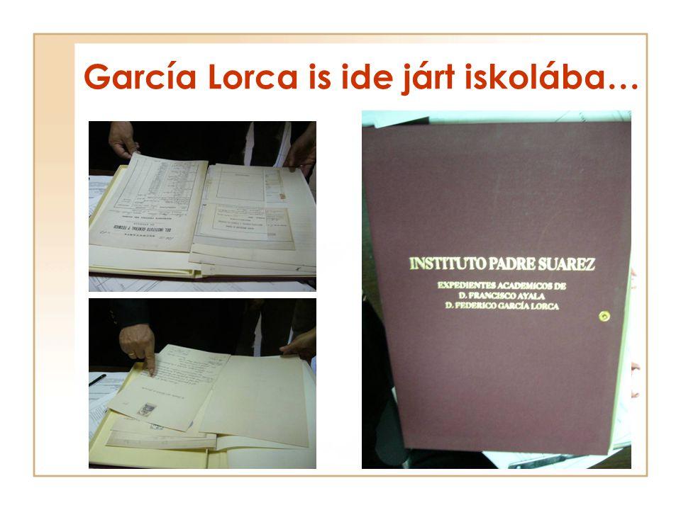 García Lorca is ide járt iskolába…