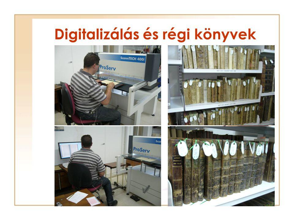 Digitalizálás és régi könyvek
