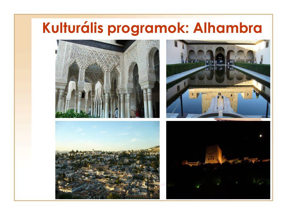 Kulturális programok: Alhambra