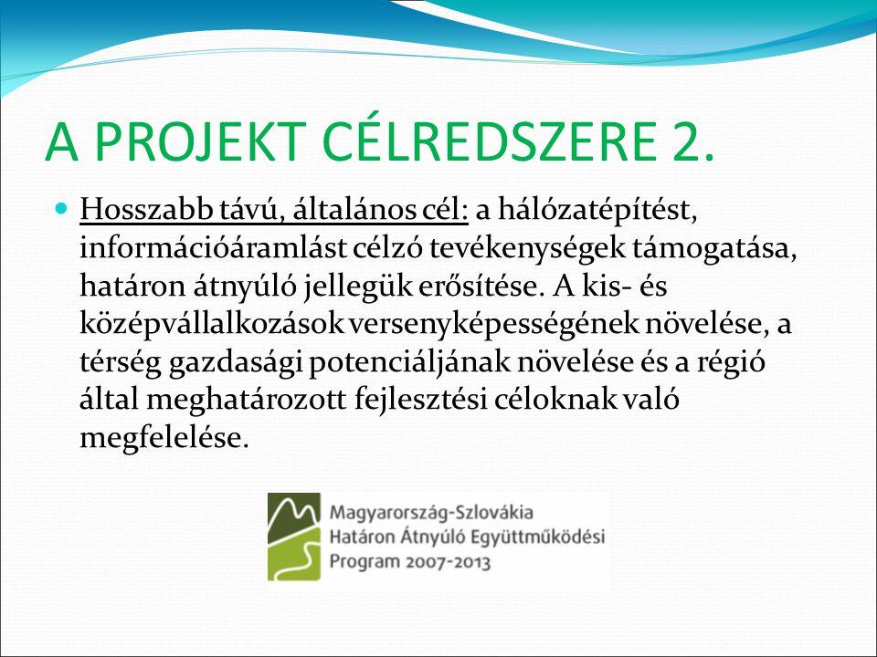 A PROJEKT CÉLREDSZERE 3.