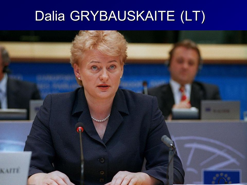 Dalia GRYBAUSKAITE (LT)