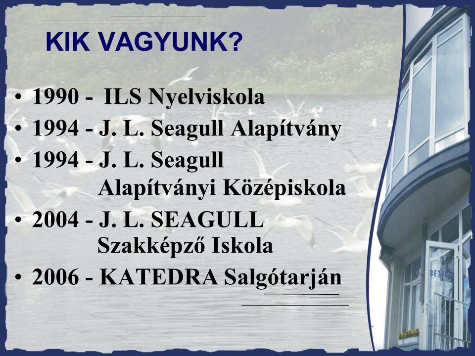 KIK VAGYUNK. 1990 - ILS Nyelviskola 1994 - J. L.