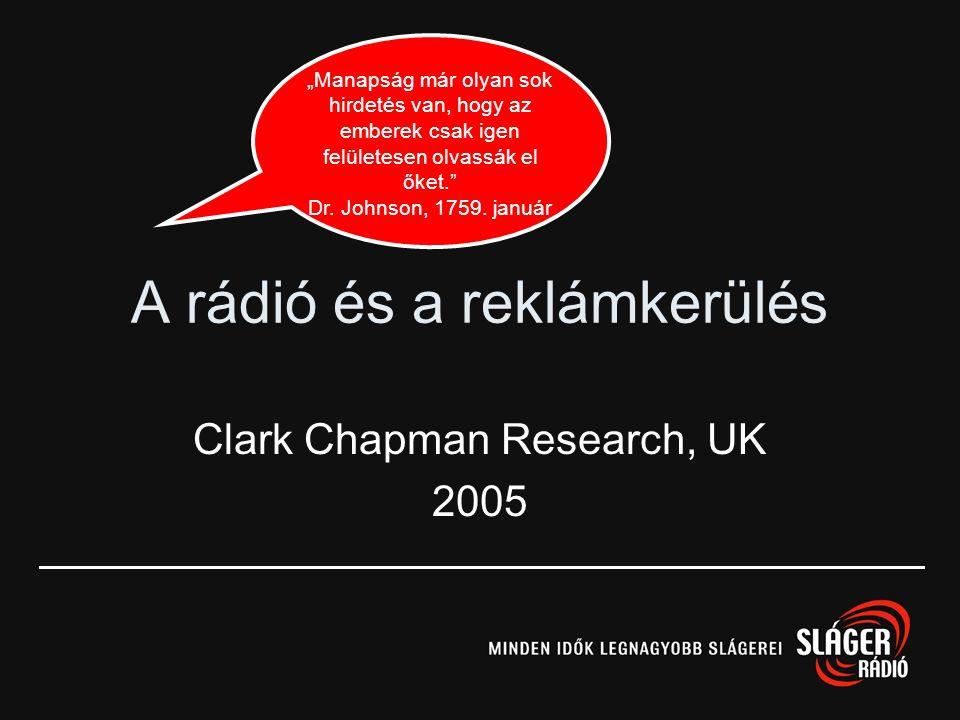 Igen!Rádió! 2 CÉL AZ ALÁBBIAK FELTÁRÁSA: EREDMÉNYEK: Miként lehet még hatékonyabb rádiókampányt csinálni? Az image hirdetések visszaidézése (50%) maga
