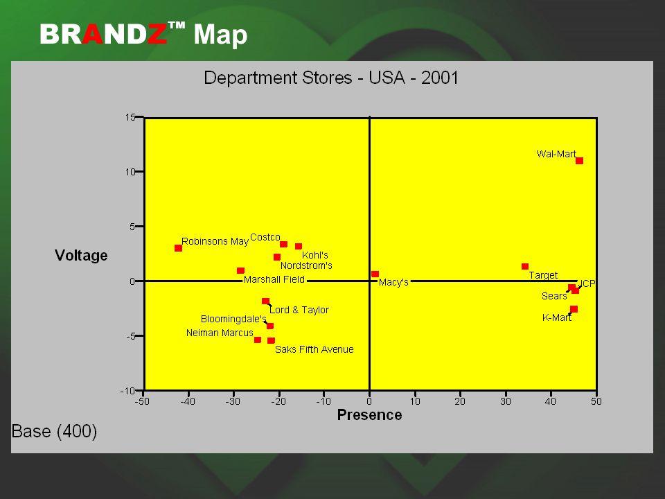 BRANDZ ™ Map