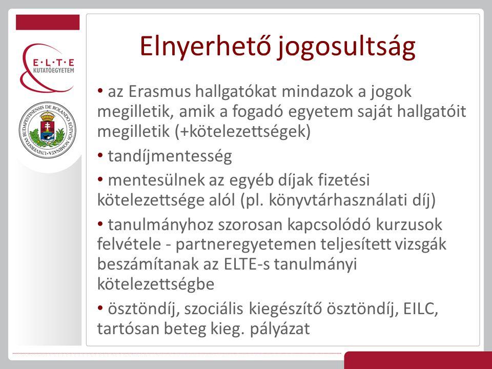 A pályázatok elbírálásának általános szempontjai (nem prioritás szerint; a kari szabályozás szerint további szempontok is lehetnek): szaknyelvi ismeret; tanulmányi eredmény; szakmai tájékozottság és aktivitás; kiválóság vagy egyéb jelentős szakmai teljesítmény; Hallgatói Önkormányzatban vagy egyéb szervezetben végzett tevékenység; beérkező Erasmus hallgatók mentori feladatainak ellátása, vállalása Bírálati szempontok