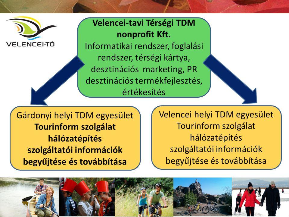 Gárdonyi helyi TDM egyesület Tourinform szolgálat hálózatépítés szolgáltatói információk begyűjtése és továbbítása Velencei helyi TDM egyesület Tourin