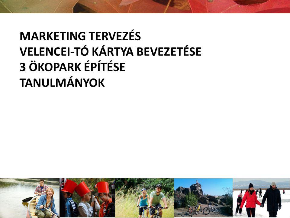 Kutatások Imázskutatás Desztináció fejlesztési stratégia Marketing stratégia Velencei-tó kártya bevezetésének előkészítése