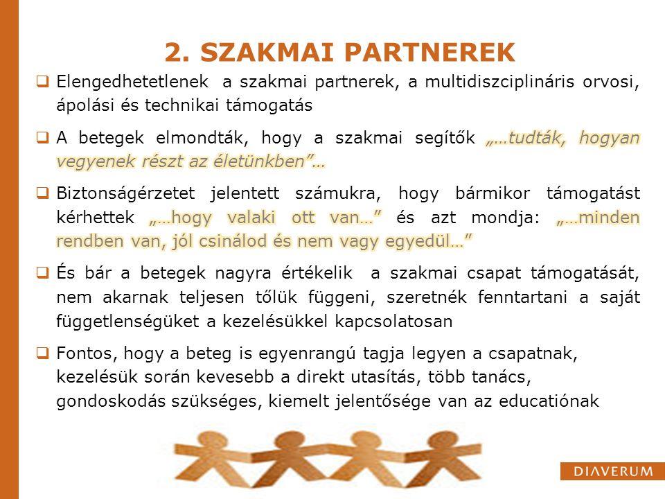 2. SZAKMAI PARTNEREK