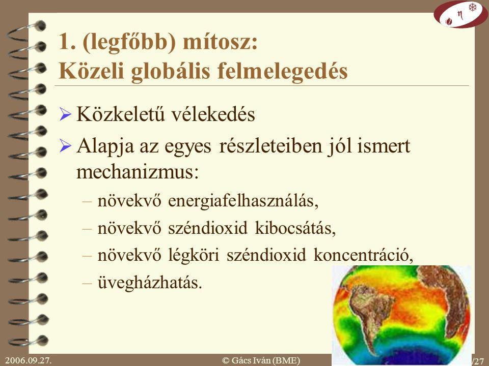 2006.09.27.© Gács Iván (BME) 10/27