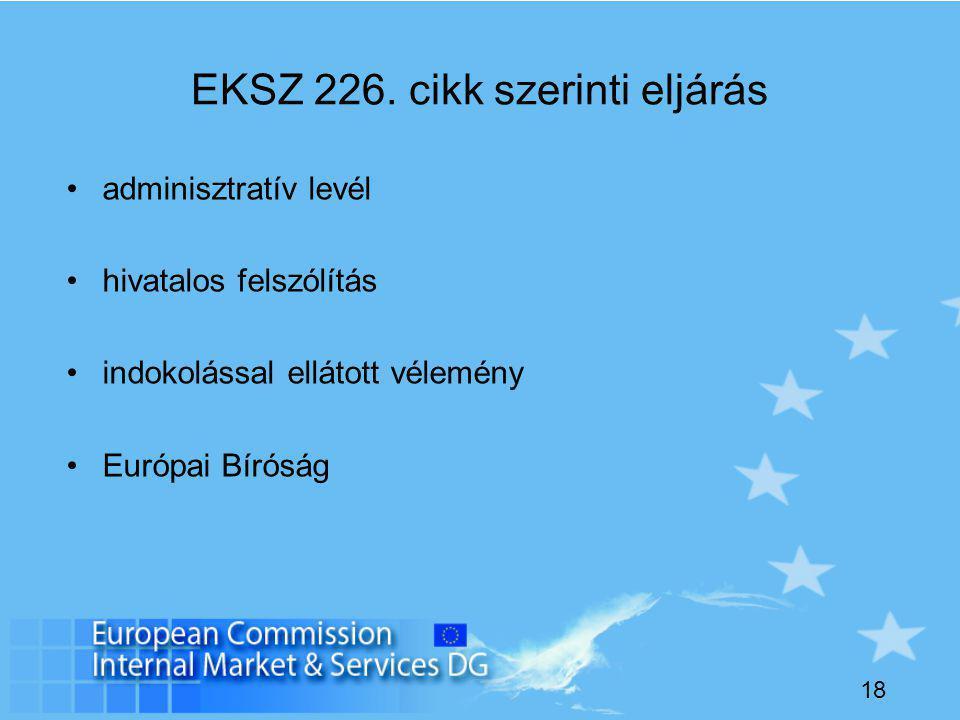 18 EKSZ 226.