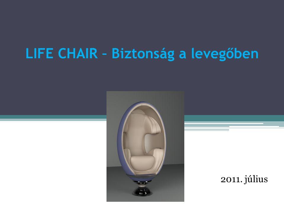 A Life Chair egy magyar innovatív repülőgépülés az utasbiztonság szolgálatában, hogy még az alábbi baleseteknek is lehessen túlélője.