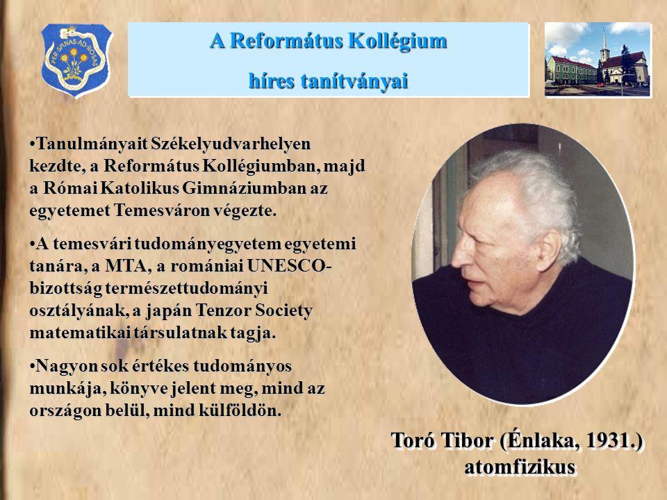 Tanulmányait Székelyudvarhelyen kezdte, a Református Kollégiumban, majd a Római Katolikus Gimnáziumban az egyetemet Temesváron végezte.Tanulmányait Sz