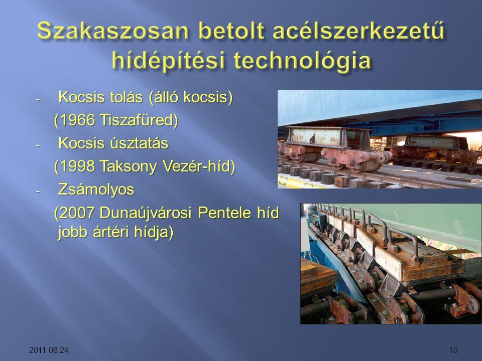 - Kocsis tolás (álló kocsis) (1966 Tiszafüred) (1966 Tiszafüred) - Kocsis úsztatás (1998 Taksony Vezér-híd) (1998 Taksony Vezér-híd) - Zsámolyos (2007
