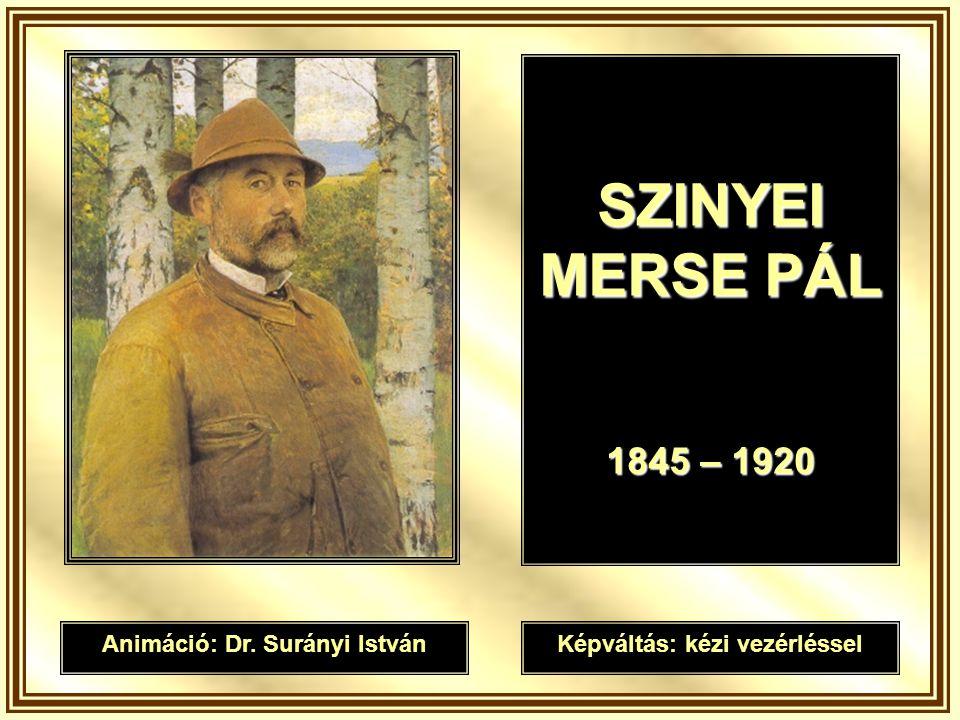 SZINYEI MERSE PÁL 1845 – 1920 Animáció: Dr. Surányi IstvánKépváltás: kézi vezérléssel