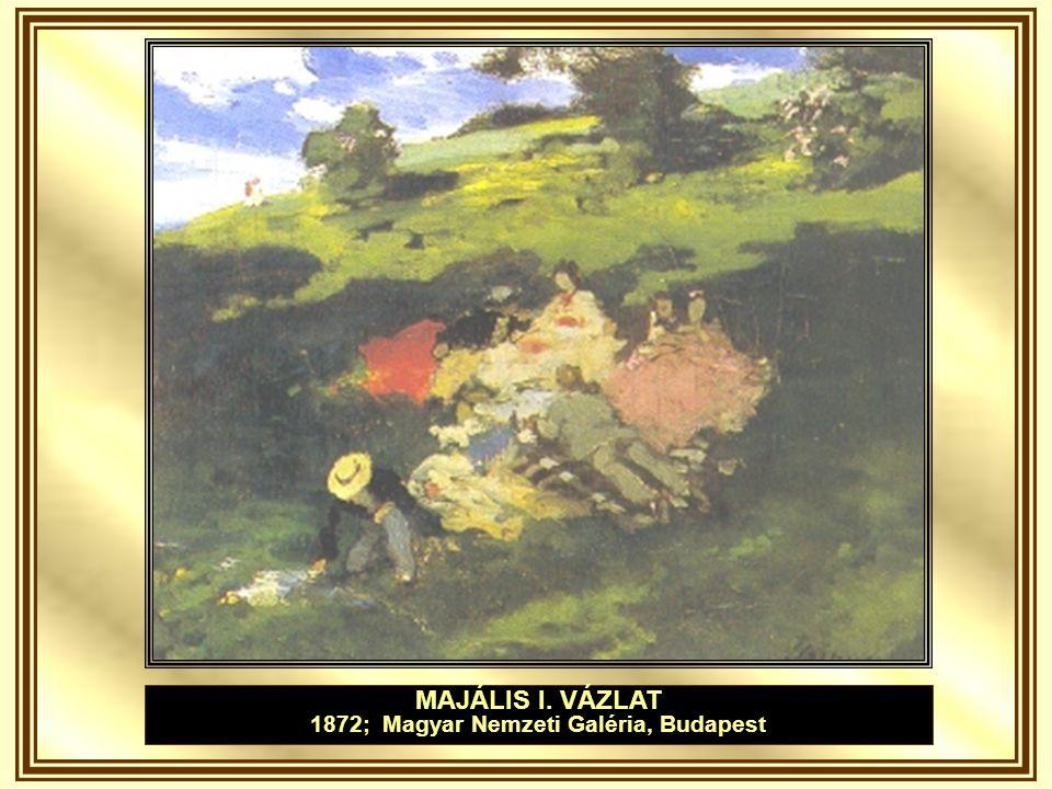 VIHAR A STARNBERGI TAVON 1972; Magyar Nemzeti Galéria, Budapest