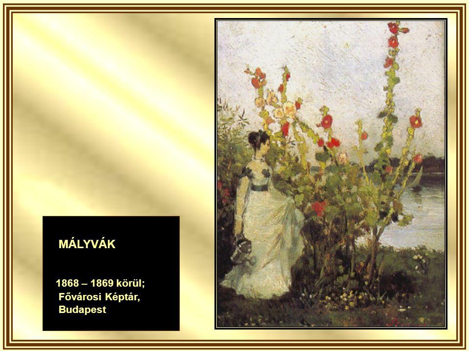 ZÖLD GYEPEN 1873; Magángyűjtemény