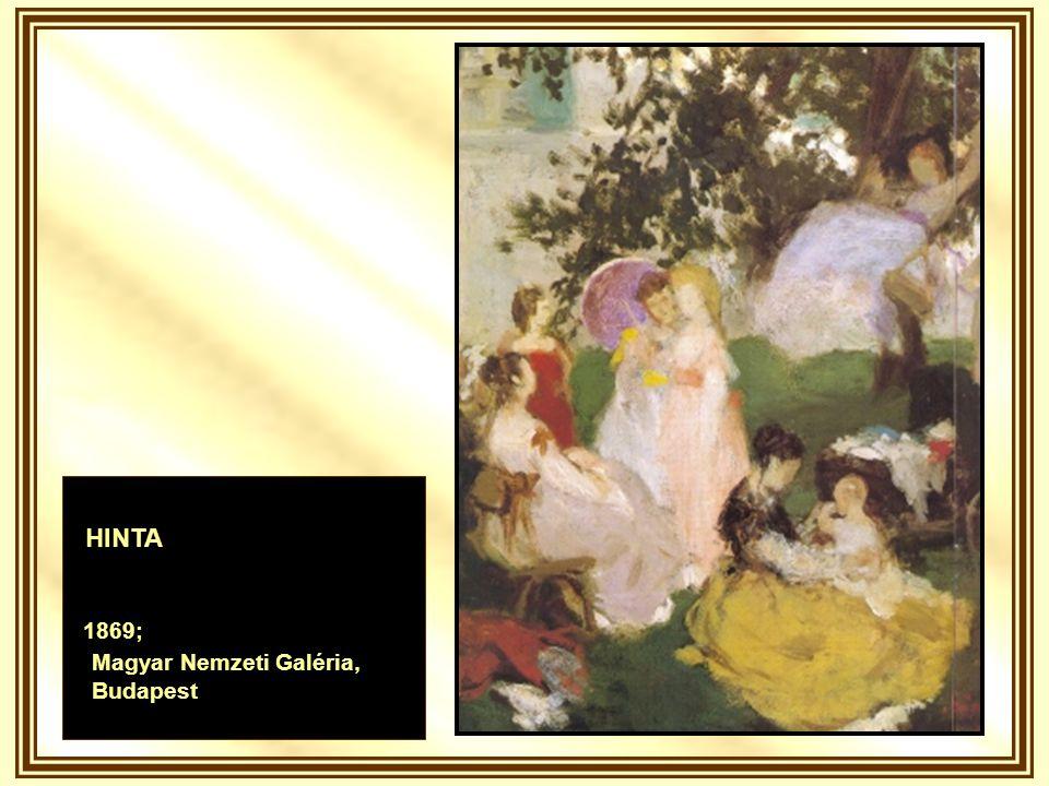 PIPACS A MEZŐN 1902; Magyar Nemzeti Galéria, Budapest
