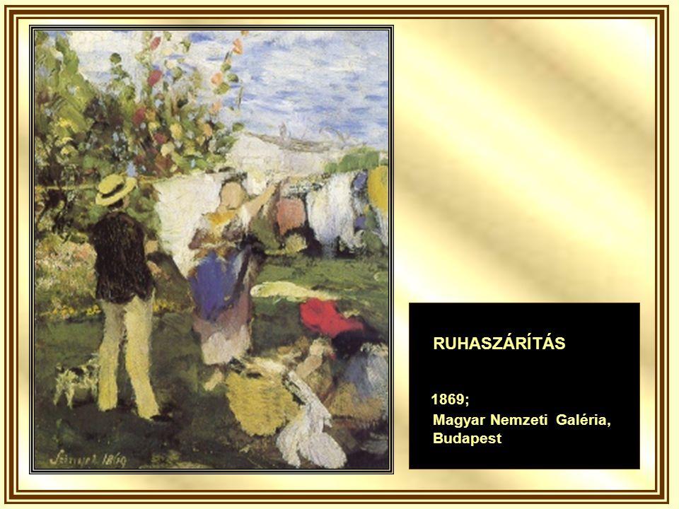 LÉGHAJÓ 1878; Magyar Nemzeti Galéria Budapest