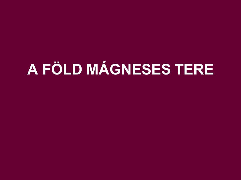 II.Kéreganomáliák a mágneses térben Oka főként az egyes elemek mágnesezhetősége.