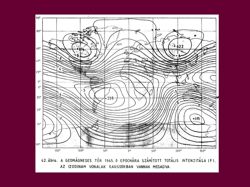 Milyen tendenciák jellemzik ma a Föld mágneses terét.