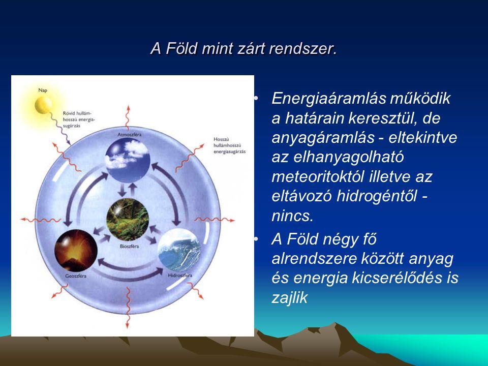 Geotermikus gradiens a kontinentális és óceáni litoszférában.