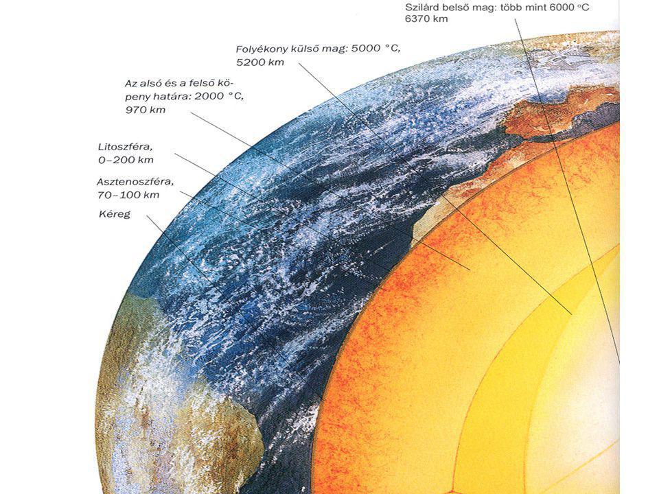 36 A földfelszín alakulása: A triász elején még egységes Pangea elkezd feldarabolódni, a szétválás a jura és a kréta időszakban a legintenzívebb.