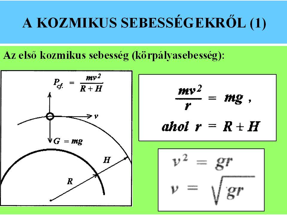 MÁSODIK KOZMIKUS SEBESSÉG A II.