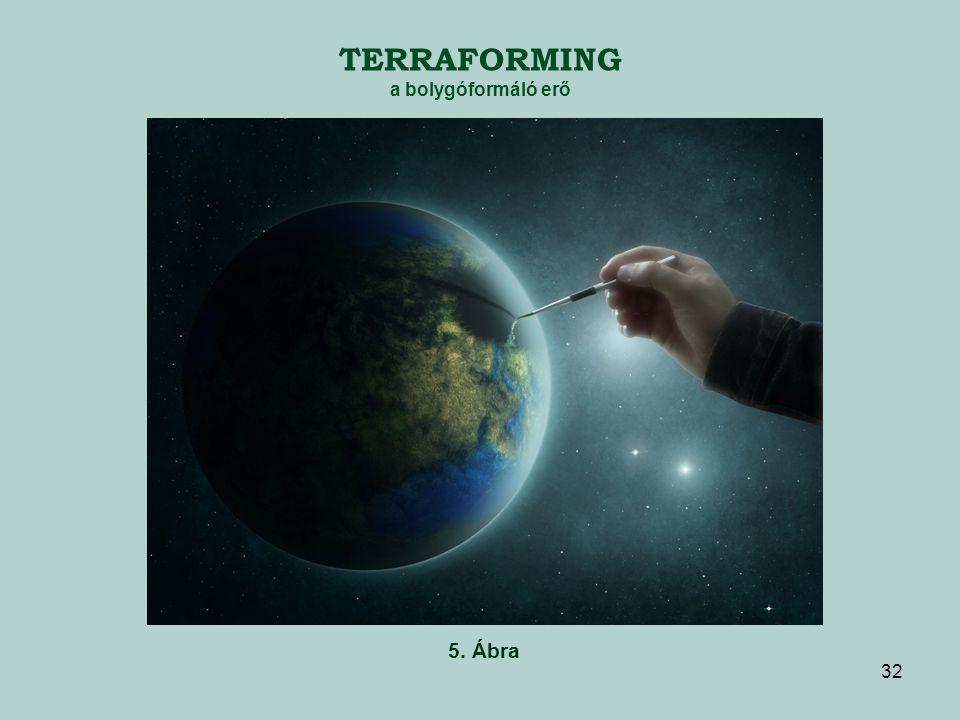 TERRAFORMING a bolygóformáló erő 5. Ábra 32