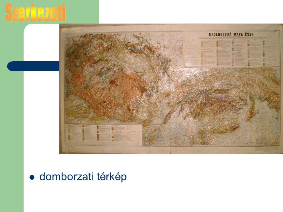 domborzati térkép