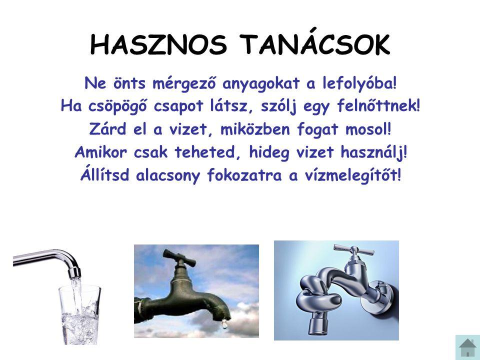 A víz a Föld legjellegzetesebb alkotóeleme.