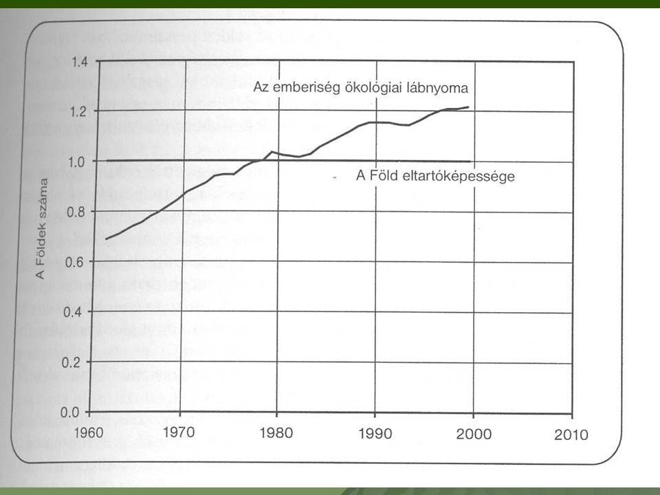 Az emberiség ökológiai lábnyoma 30 százalékkal nagyobb, mint amit a természet hosszú távon fenn tud tartani.